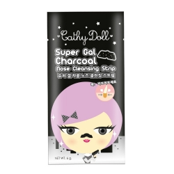 Charcoal Nose Cleansing Strip 6g Cathy Doll Super Gal
