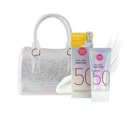 Ultra Light Sun Fluid 40ml+Mini Jelly Bag Set Cathy Doll All