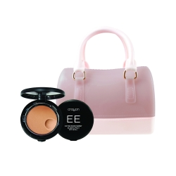 *Pro Mother Day* Elastic Pact 10g Medium+Mini Jelly Bag (Nude) Set Crayon All