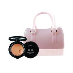 Elastic Pact 10g Medium+Mini Jelly Bag (Nude) Set Crayon All
