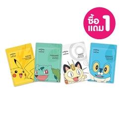*โปรโมชั่น Save Price ซื้อ1แถม1* Mask Sheet 25g Cathy Doll Pokemon Edition