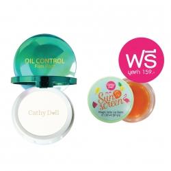 *โปรโมชั่น Summer Sale Makeup & Sun Care Collection*Oil Control Film Pact 12g Cathy Doll #Translucent