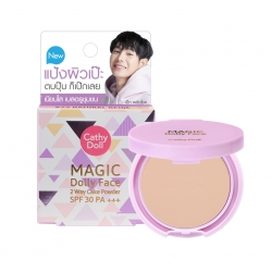 *peck* Magic Dolly Face Two Way Cake Powder SPF30 PA+++ 4.5g Cathy Doll #23 Natural Beige