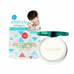 *peck* Oil Control Film Pact 12g Cathy Doll #Translucent