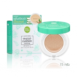 Aloe Snail Moist Cushion SPF50 PA+++ 15g Baby Bright P