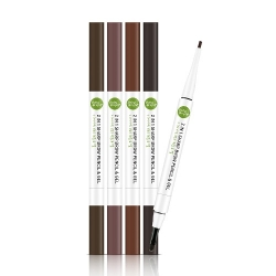 2 In 1 Sharp Brow Pencil & Gel 0.2+0.65g Baby Bright