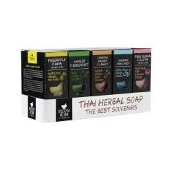 Herbal Soap 5 Formulas Set Reunrom